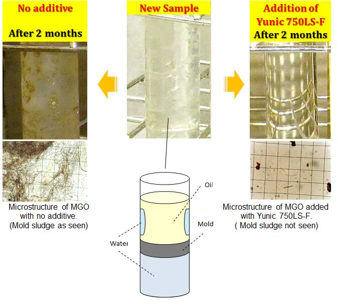 Lubricity Improving and Mold Inhibiting Agent
